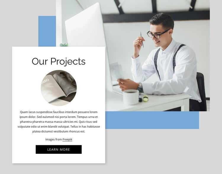 Complex sales distribution agency Web Page Designer