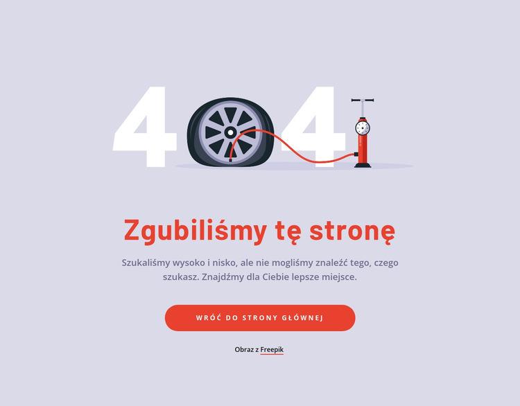 Straciliśmy tę blokadę strony Szablon witryny sieci Web
