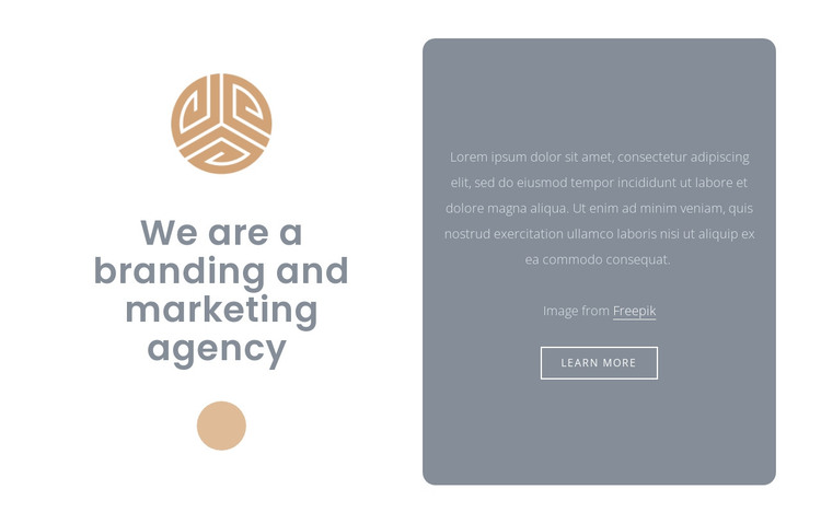 Branding and marketing agency HTML Template