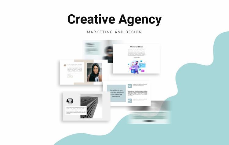 Web Design Agency Website Mockup