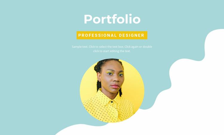 Employer Portfolio Website Template