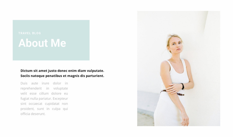 About work as a psychologist Website Mockup