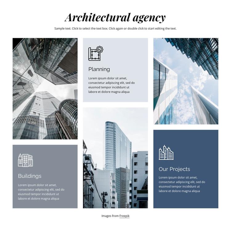 Architectural agency Joomla Page Builder