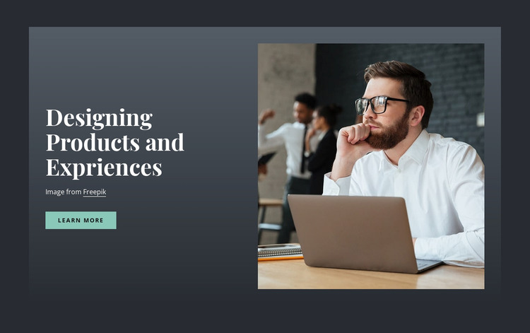 Designing Products and Expriences WordPress Theme