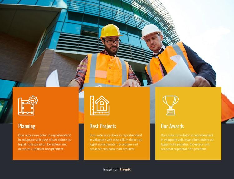 Building Company Services Joomla Template
