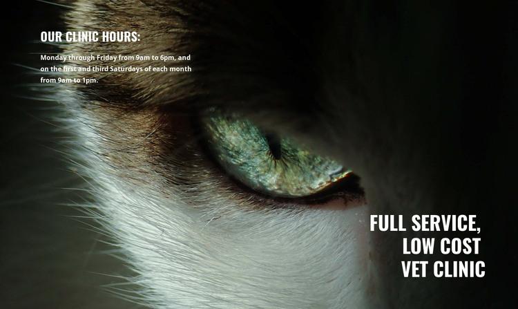 Pet health and wellness HTML Template