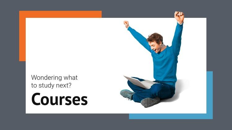 Development courses CSS Template