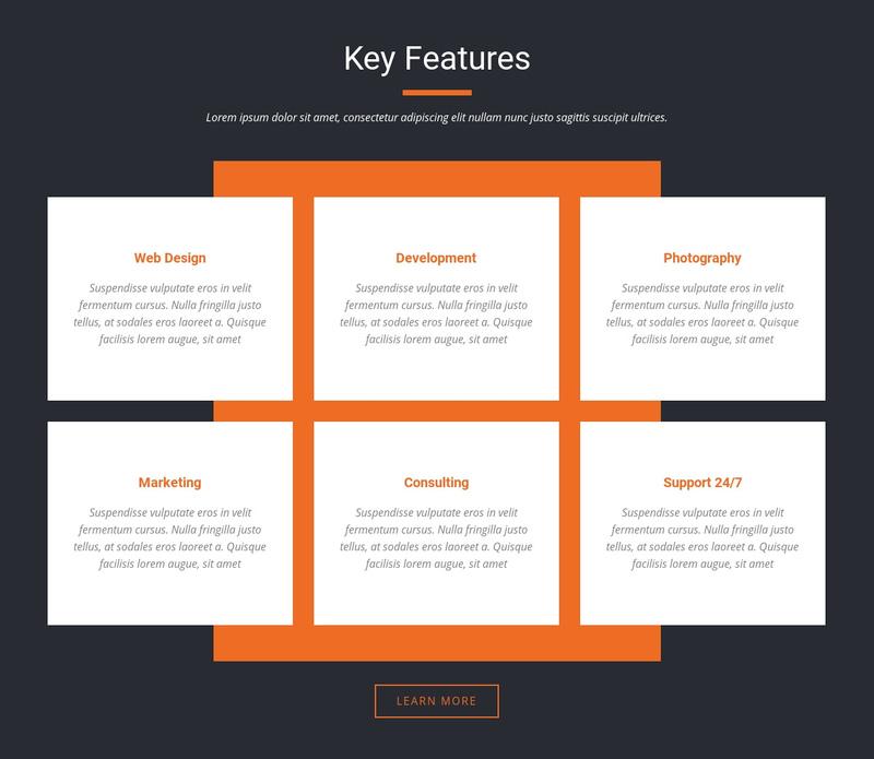 Important characteristics Website Creator