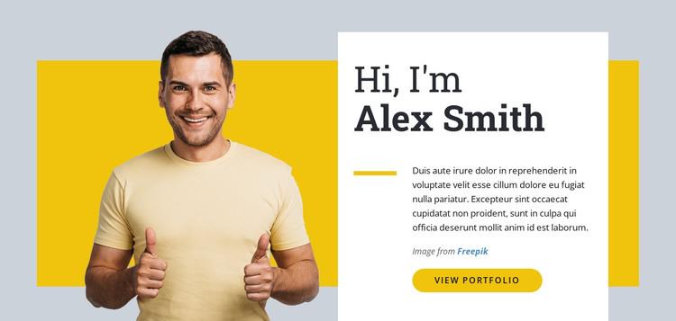 I am Web Designer Web Design