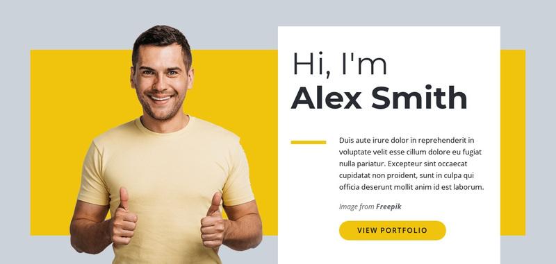 I am Web Designer Web Page Design