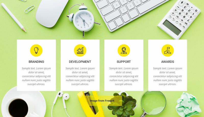 Creative Agency Services Web Page Designer