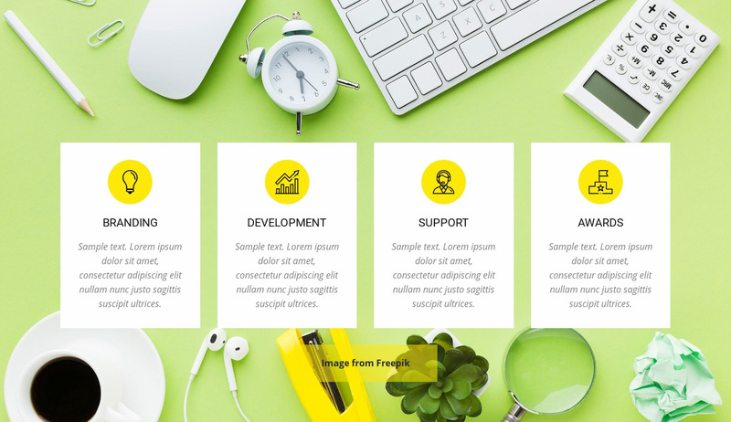 Creative Agency Services Website Creator
