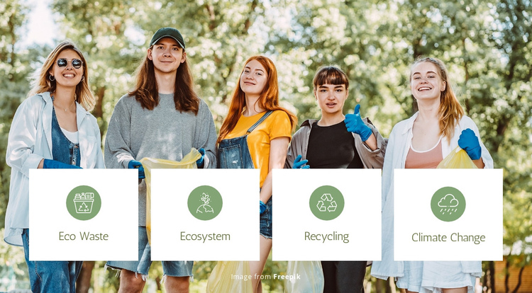 Eco Waste Solutions Website Builder Software