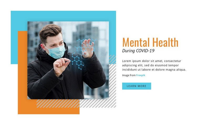 Mental Health During COVID-19 Static Site Generator