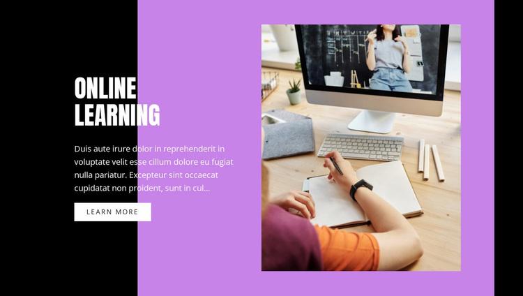 Information technology courses Website Design