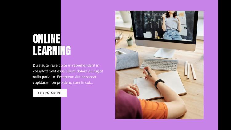 Information technology courses WordPress Website Builder