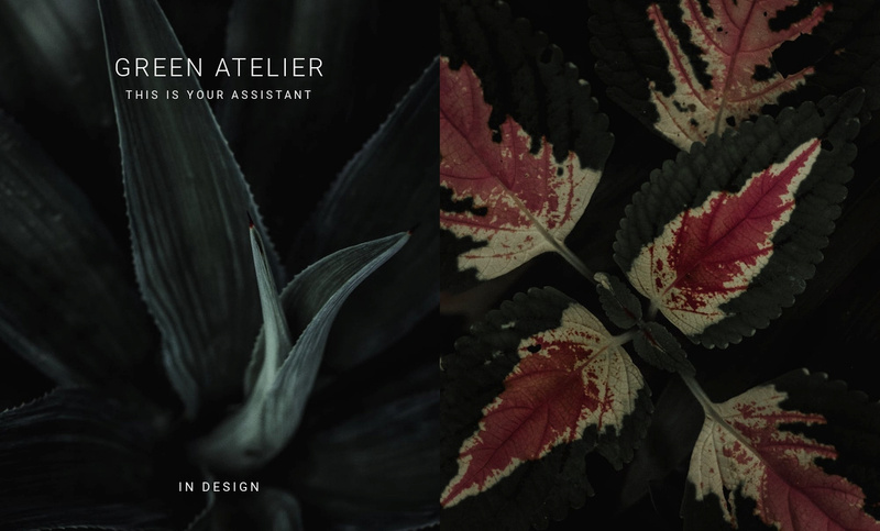 Green atelier Website Maker