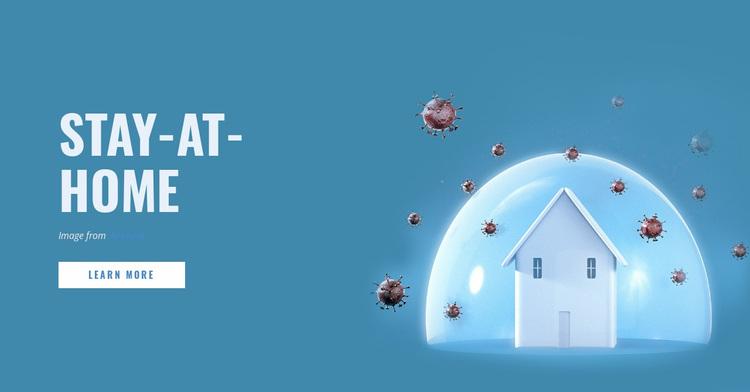 Stay-at-Home Order Website Design