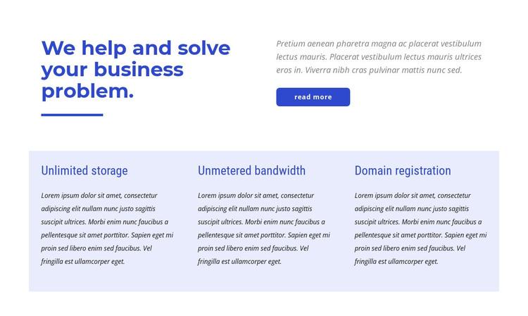 Premium european hosting HTML Template
