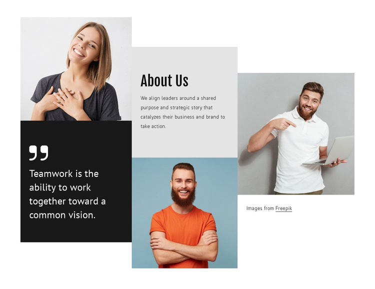 Benefits of  teamwork Joomla Template