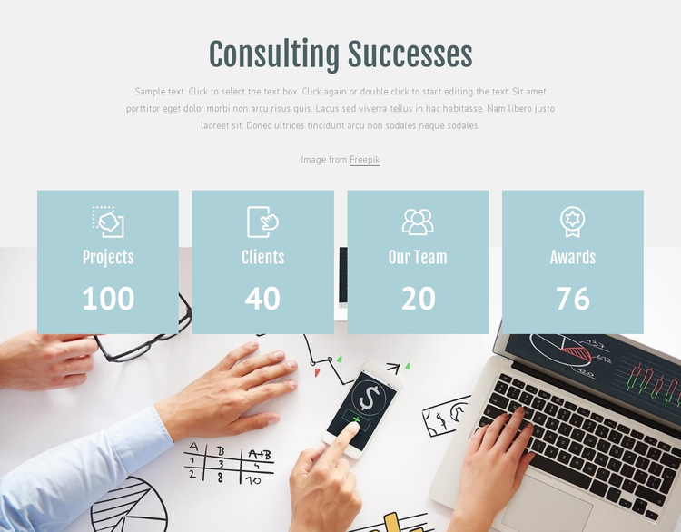 Counsolting successes HTML5 Template