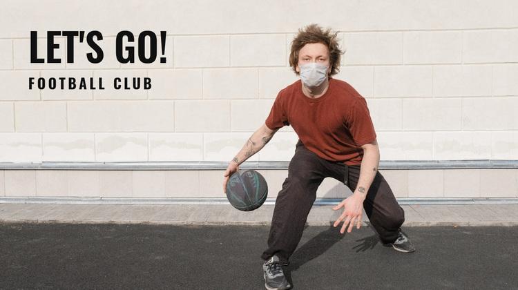 Street soccer competition Website Design