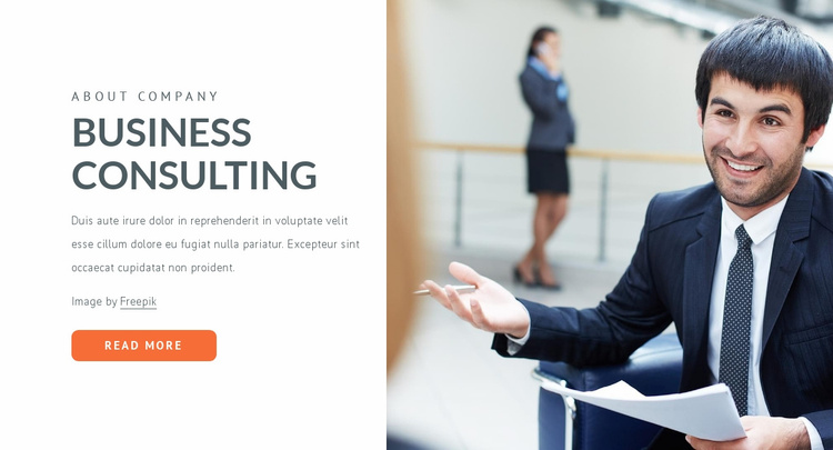 Innovation and leadership Website Template