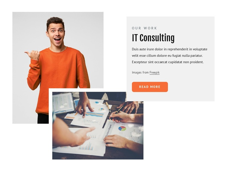 It consultants Html Code Example