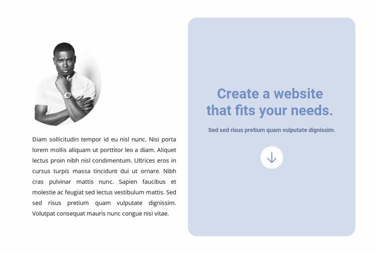 Creating a simple website Website Template