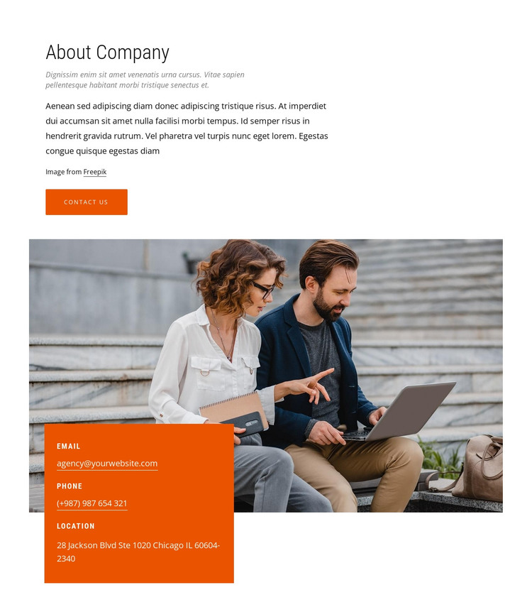 We design offices HTML Template