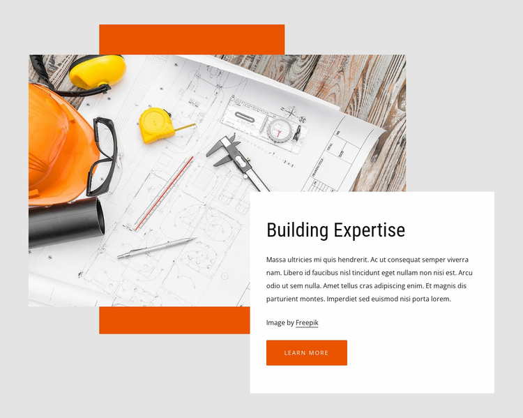 Building consulting Website Template