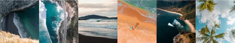 Piękne zdjęcia przyrody Szablon Joomla