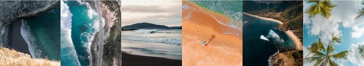 Природа красивые картинки HTML шаблон