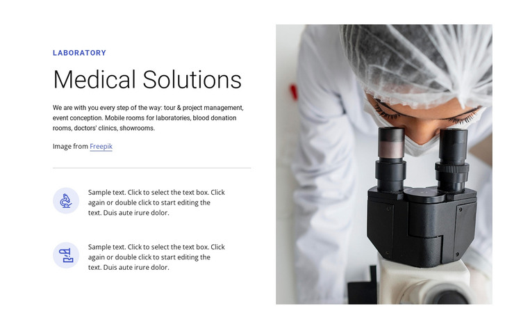 Medical solutions HTML Template