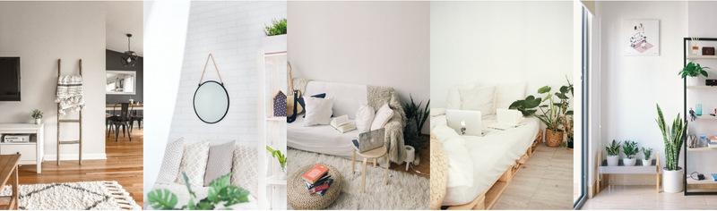 Gallery with interior ideas Web Page Designer