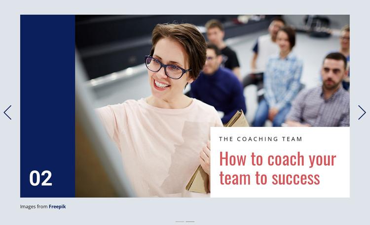 Coaching is Powerful Process Web Design