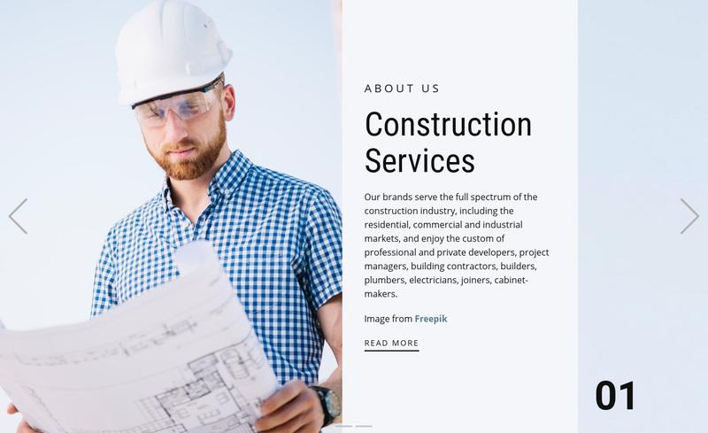 Custom building Web Page Design