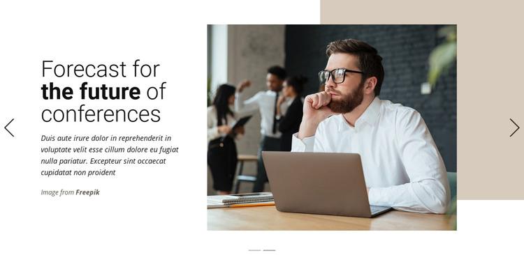 Marketing Trends & Strategies Homepage Design