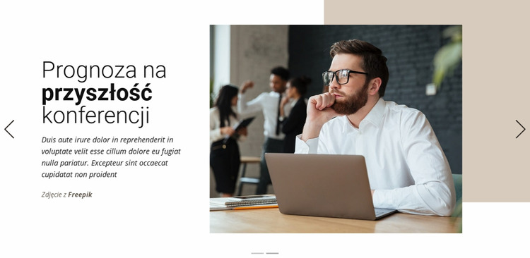 Trendy i strategie marketingowe Szablon Joomla