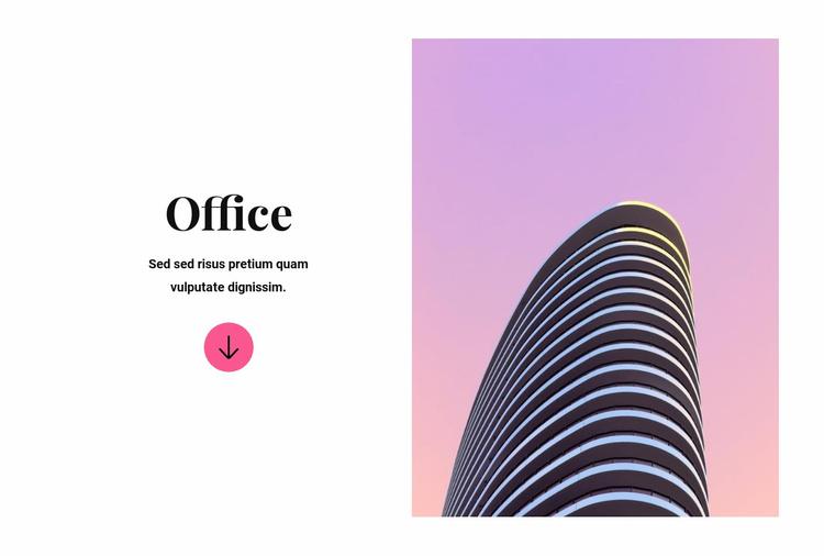 Office building Website Template