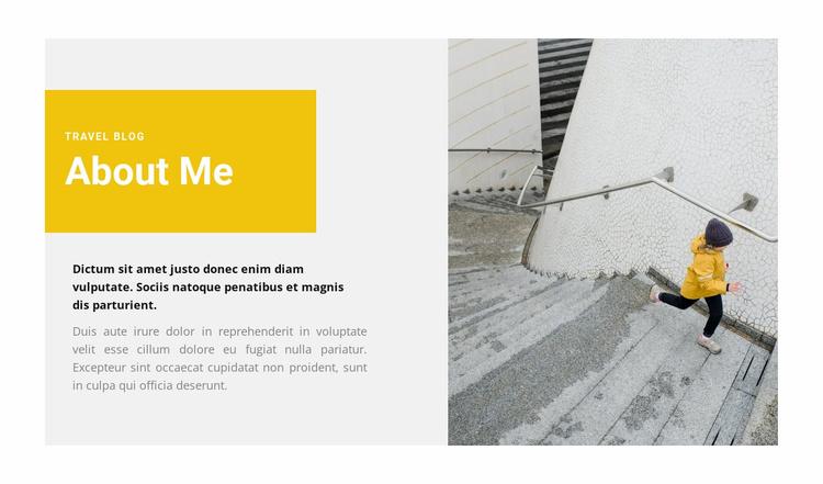 About creativity Website Template