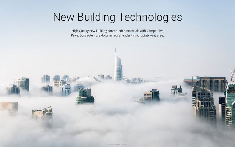 Above the clouds Website Builder Software
