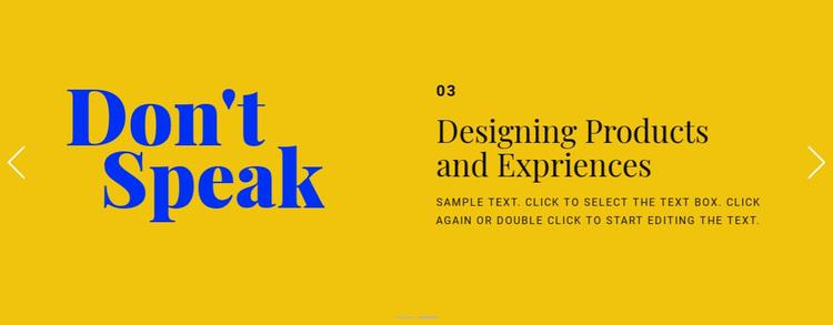 Headline beauty style Website Design
