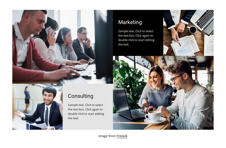 Consulting for you HTML Template