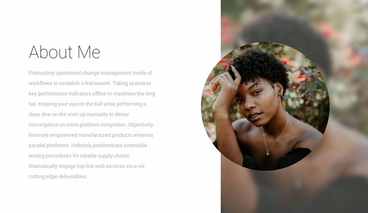 Read about the designer Website Template