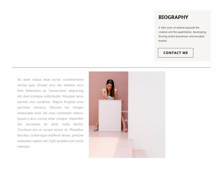 Your stylist Website Template