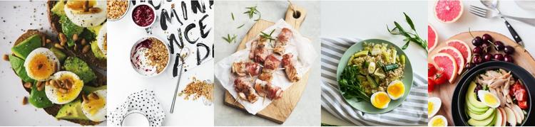 Food gallery Homepage Design