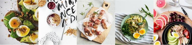 Food gallery Website Design