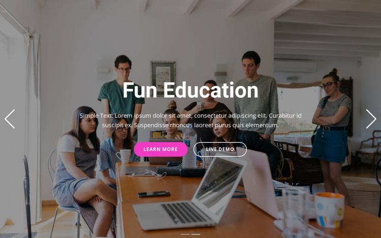 Coaching services Website Design