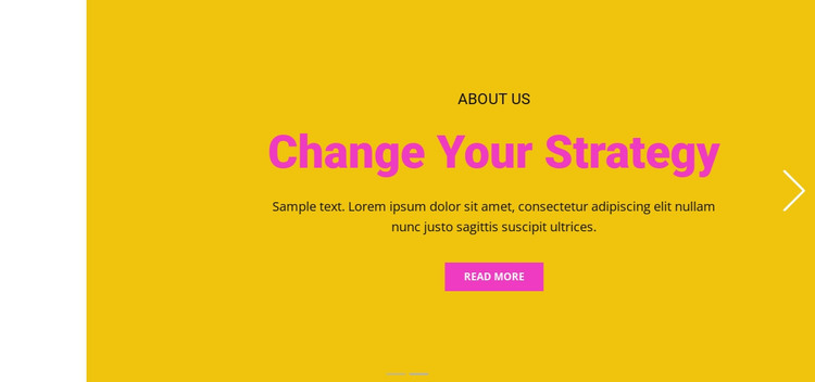 Supporting your success HTML Template